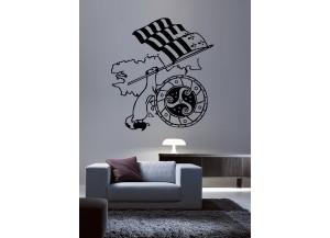 Stickers Hermine et drapeau breton