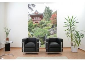 Stickers paysage japonnais