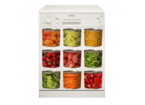 Stickers Boite de légumes