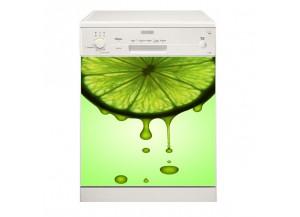 Stickers lave vaisselle Citron vert