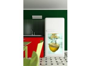 Stickers frigo Citron jaune