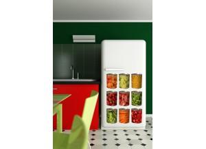 Stickers frigo boite de conserve