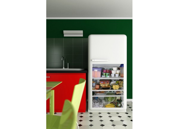 Stickers interieur de frigo