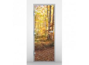 Stickers pour porte Forêt d'automne