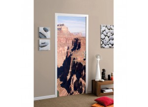 Stickers pour porte Le grand canyon