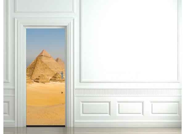 Stickers trompe l'oeil les Pyramides d'Egypte