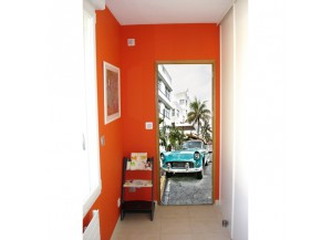 Stickers pour porte Miami beach