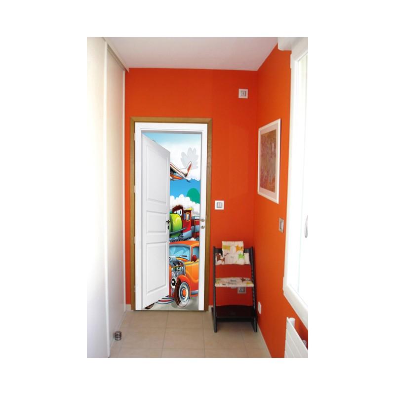 stickers trompe l 39 oeil porte v hicule pour enfants tatoutex stickers. Black Bedroom Furniture Sets. Home Design Ideas