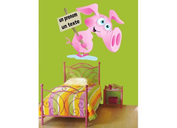 Stickers Cochon et pancarte