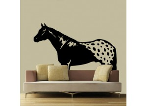 Stickers Cheval appaloosa