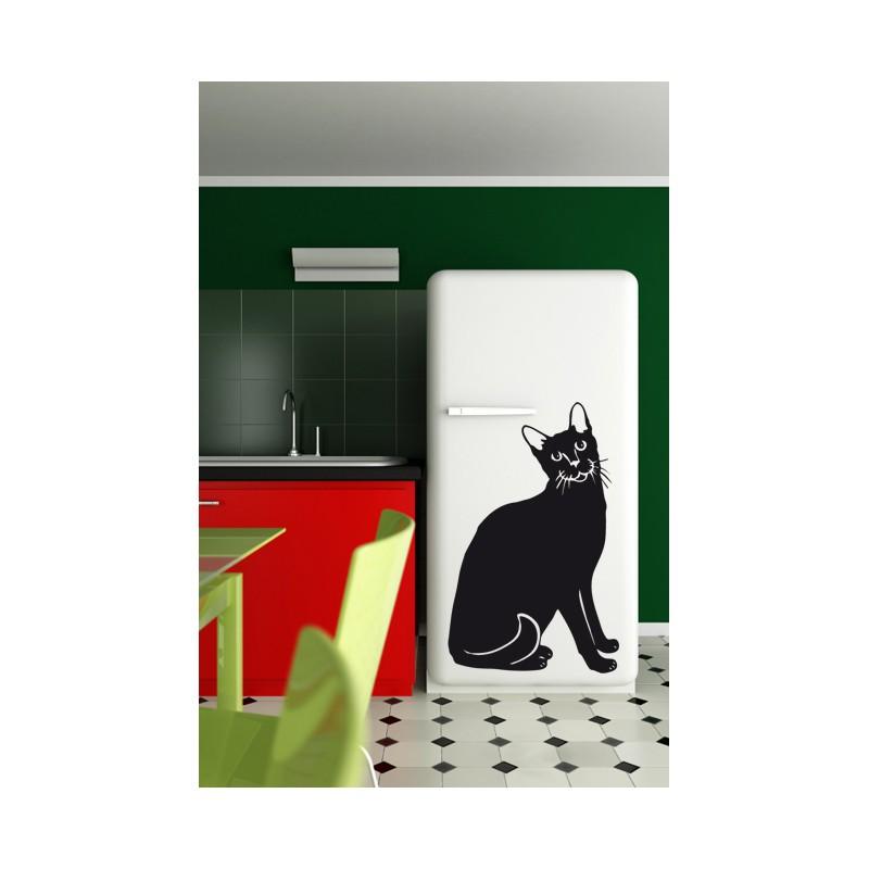 stickers chat noir tatoutex stickers. Black Bedroom Furniture Sets. Home Design Ideas