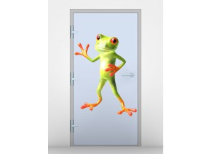 Stickers Grenouille debout