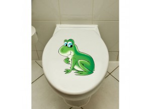 Stickers Grenouille de profil