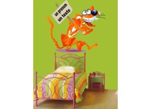 Stickers Tigre et pancarte