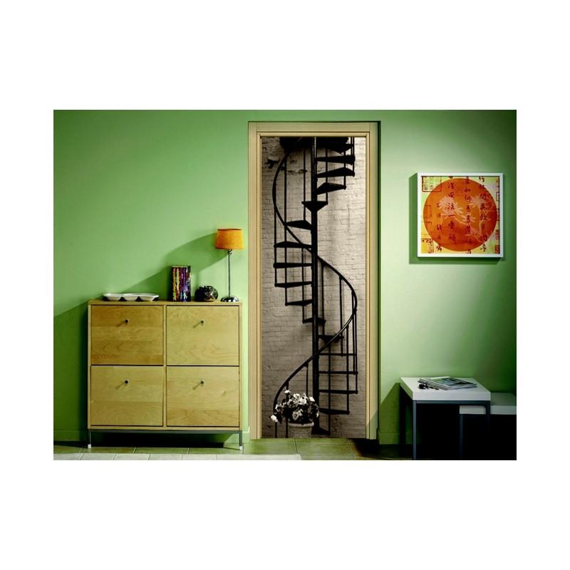 stickers pour porte escalier en colima on tatoutex stickers. Black Bedroom Furniture Sets. Home Design Ideas
