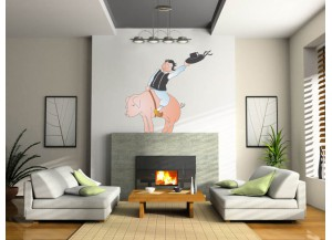 Stickers Breton et cochon