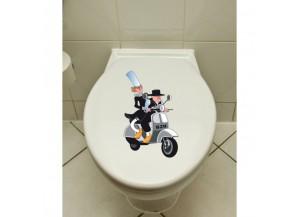 Stickers Les bretons à scooter
