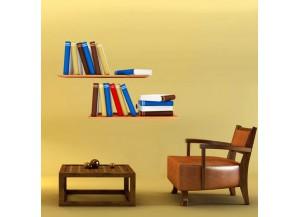 Stickers Etagères de livres