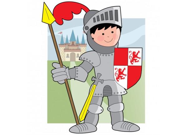 Stickers Chevalier en armure