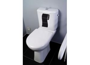 Stickers Rouleau de papier toilette