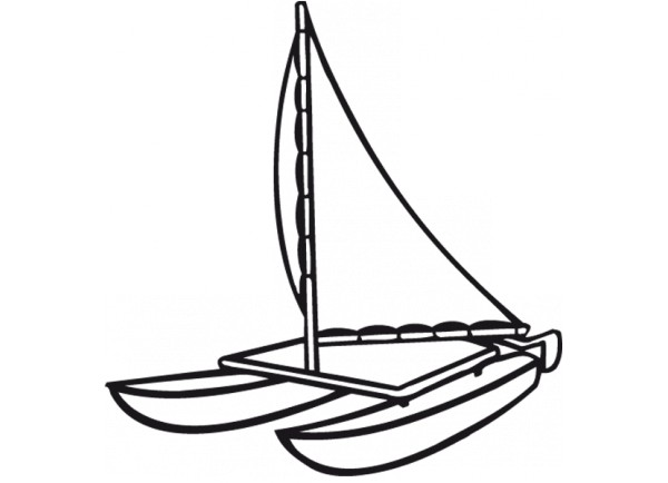 stickers Catamaran