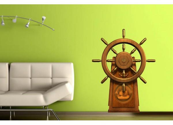 stickers Marin barre à roue