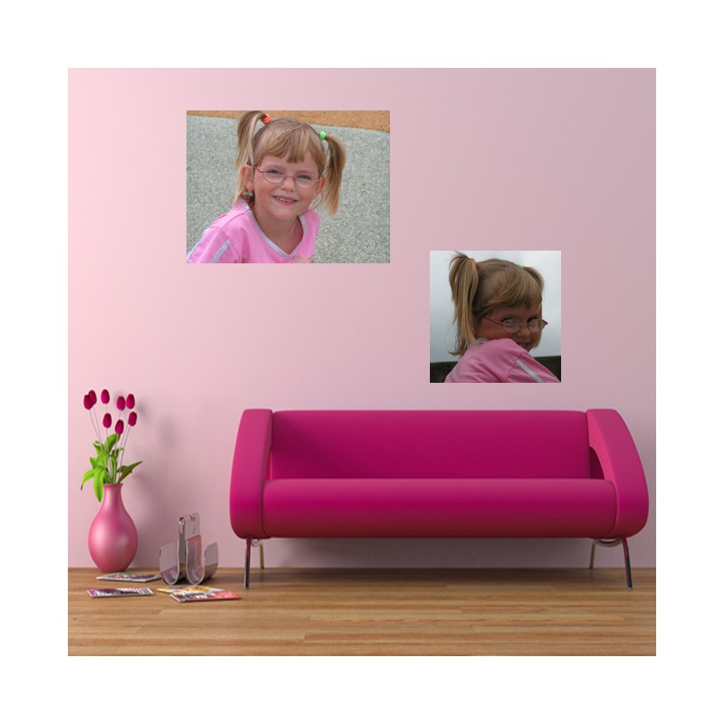 stickers personnalisable avec photo d co personnalisable. Black Bedroom Furniture Sets. Home Design Ideas