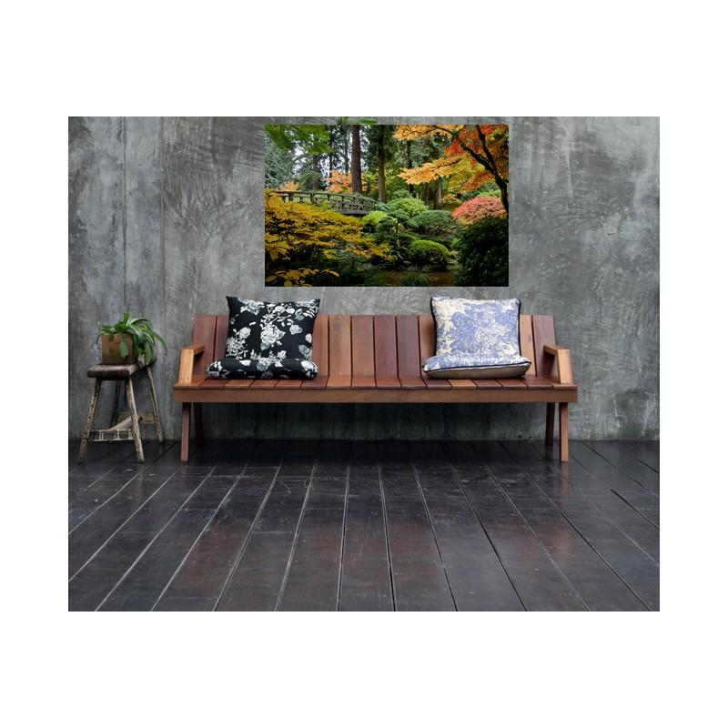 stickers paysage d coration murale adh sive tatoutex sticker jardin. Black Bedroom Furniture Sets. Home Design Ideas