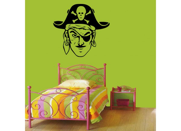 stickers Pirate borgne