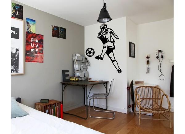 stickers Footballeur
