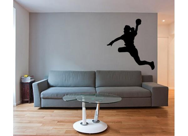 stickers Joueuse de handball