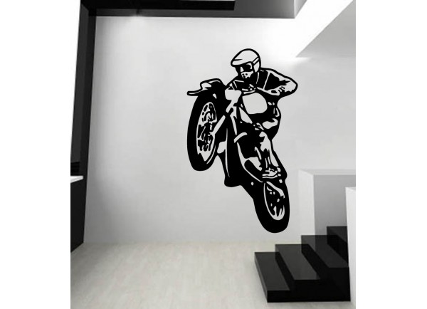 stickers Moto cross