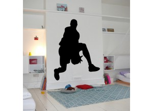 Stickers Basketteur drible sous la jambe