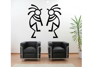 Stickers Duo de danseurs