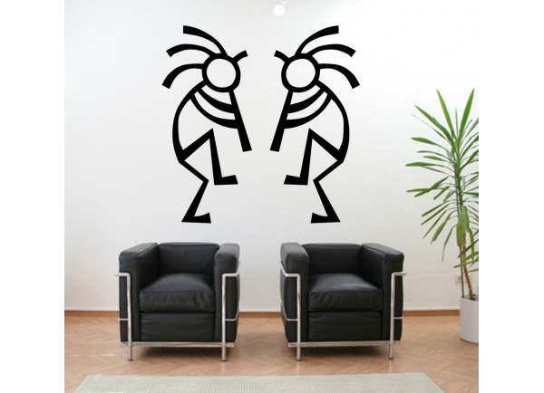 stickers Duo d danseur