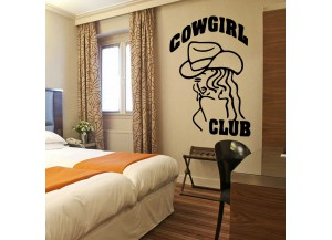 Stickers Cow girl club