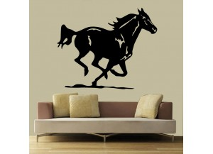 Stickers Cheval au galop
