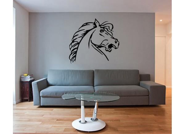 stickers Profil de cheval