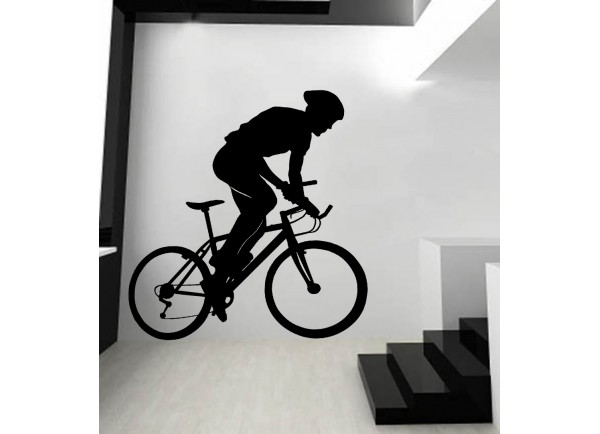 stickers Cycliste et vélo