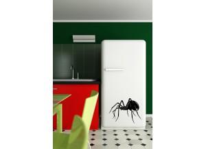 Stickers Araignée veuve noire