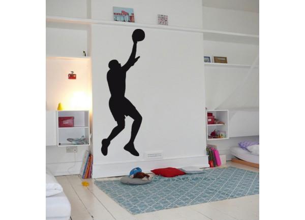 stickers Basketteur en extension