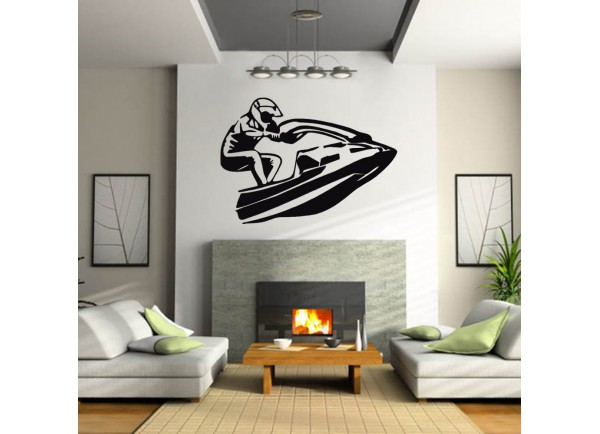stickers Jet ski