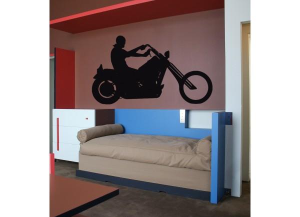 stickers Chopper et biker