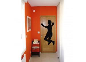 Stickers Joueur de handball