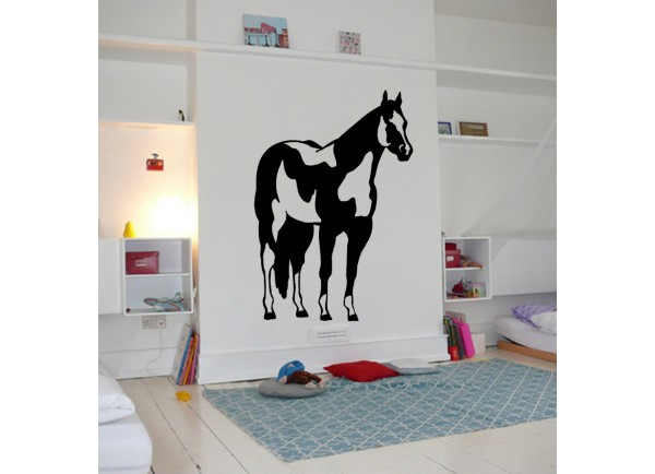 stickers Cheval pie