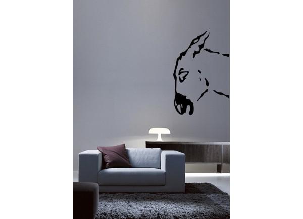 stickers Tête d'âne