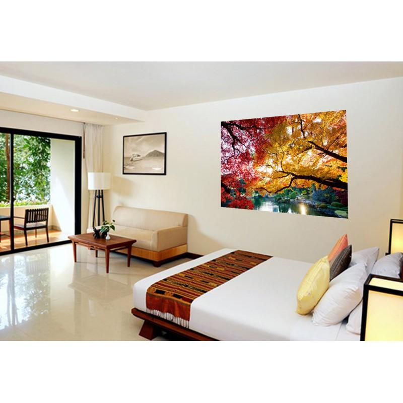 d coration murale tatoutex stickers paysage jardin japonais. Black Bedroom Furniture Sets. Home Design Ideas