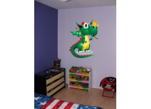 stickers bébé dragon