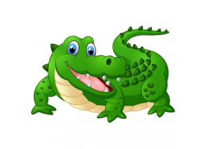 Stickers Crocodile