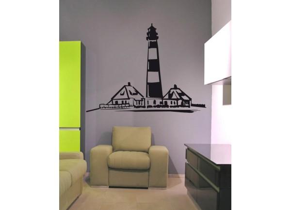 Stickers phare et maisons bretonne